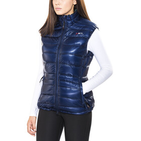 Yeti Caring Lightweight Down Vest Women estate blue/bay leaf